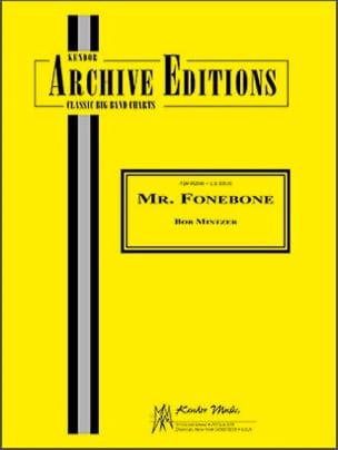Mr. Fonebone Bob Mintzer Partition ENSEMBLES - laflutedepan