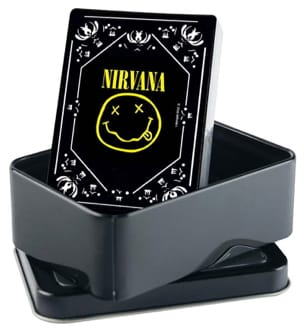 Nirvana - Nirvana Playing Cards - Smiley Logo - Accessory - di-arezzo.com