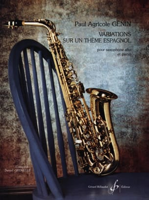 Paul Agricol Genin - Variations on a Spanish Theme - Sheet Music - di-arezzo.com
