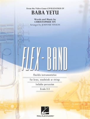 Musique de Jeux Vidéo - Baba Yetu, Civilization IV - Flexband - Sheet Music - di-arezzo.com