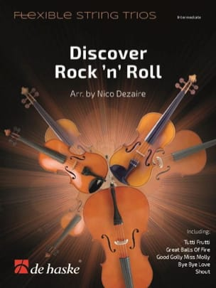 - Discover Rock 'n' Roll - Flexible String Trios - Partition - di-arezzo.fr