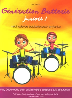 Eric Thiévon - Generation Juniors Battery! - Sheet Music - di-arezzo.com