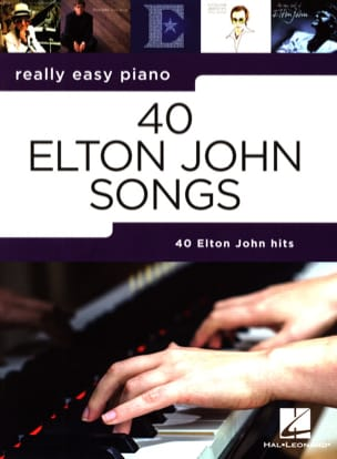 Elton John - Really easy piano - 40 Elton John Songs - Partition - di-arezzo.ch