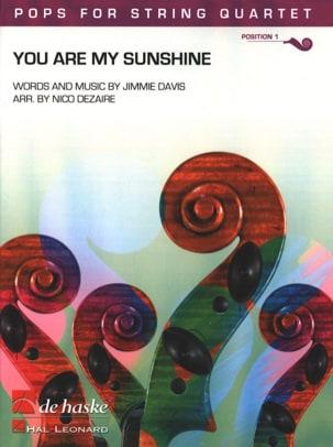 You Are My Sunshine - Pops for String Quartet - laflutedepan.com