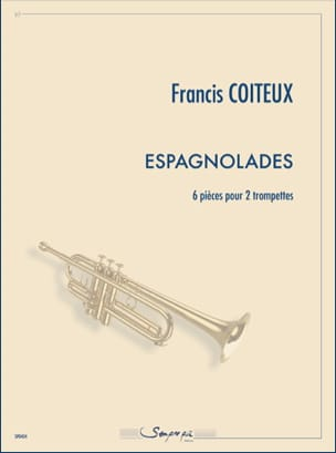 Francis Coiteux - espagnolades - Sheet Music - di-arezzo.com