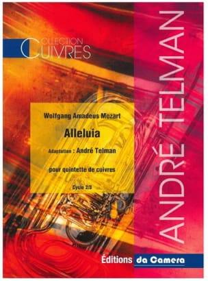 MOZART - Alleluia - Brass quintet - Sheet Music - di-arezzo.com