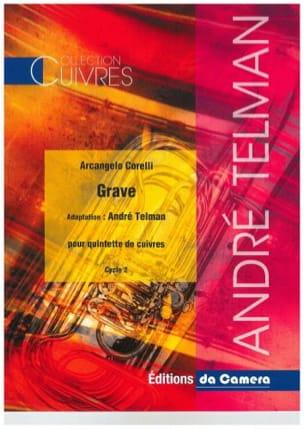 Arcangelo Corelli - Grave - Quintette de cuivres - Partition - di-arezzo.fr