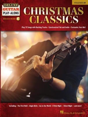 Deluxe Guitar Play-Along Volume 19 - Christmas Classics laflutedepan