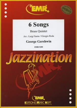 6 Songs GERSHWIN Partition Ensemble de cuivres - laflutedepan