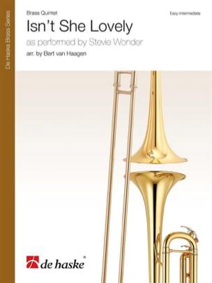 Stevie Wonder - Isn't She Lovely - Quintette de Cuivres - Partition - di-arezzo.fr