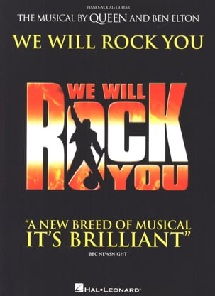 Queen - We Will Rock You - Comedia musical - Partitura - di-arezzo.es