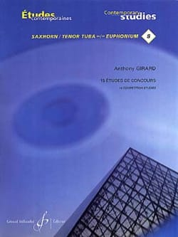 Anthony Girard - 15 Competition Studies - Sheet Music - di-arezzo.co.uk