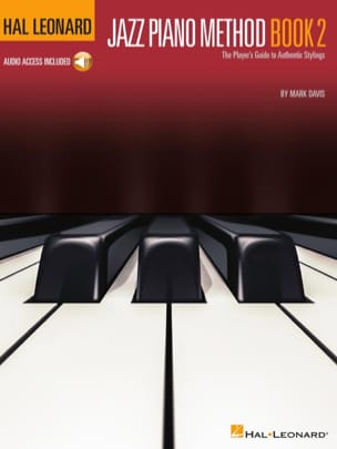 Mark Davis - Hal Leonard Jazz Piano Method - Volume 2 - Partition - di-arezzo.fr