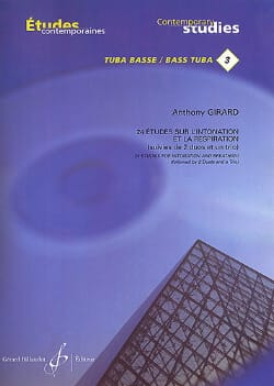 Anthony Girard - 24 Studies on intonation and respiration - Sheet Music - di-arezzo.co.uk