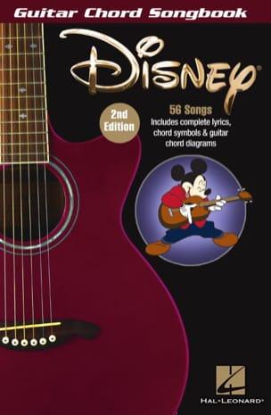 Disney - Guitar Chord Songbook DISNEY Partition laflutedepan