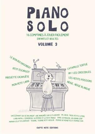 - Piano Solo Volume 3 - 16 Rhymes - Sheet Music - di-arezzo.co.uk