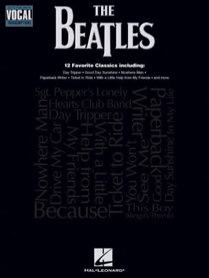 BEATLES - Note-for-Note Vocal Transcriptions - Sheet Music - di-arezzo.com