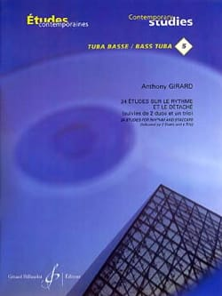 Anthony Girard - 24 Studies on rhythm and detach - Sheet Music - di-arezzo.co.uk