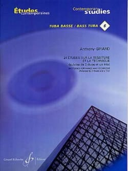 Anthony Girard - 24 Studies in the field of technology and technology - Sheet Music - di-arezzo.co.uk