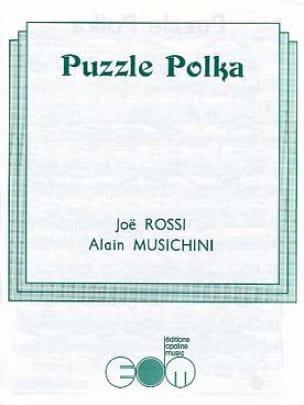 Puzzle Polka Pascal Baselli & Joë Rossi Partition laflutedepan