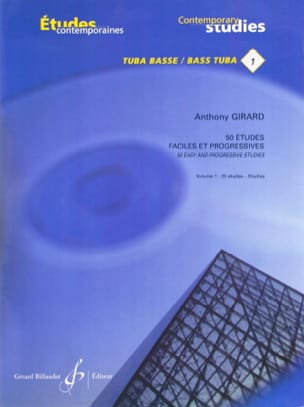 Anthony Girard - 50 Easy and Progressive Studies Volume 1 - Sheet Music - di-arezzo.co.uk