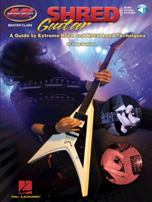 Shred Guitar Greg Harrison Partition Guitare - laflutedepan