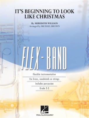Meredith Wilson - It's Beginning to Look Like Christmas - FlexBand - Sheet Music - di-arezzo.co.uk