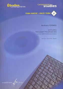 Anthony Girard - 50 Easy and Progressive Studies Volume 2 - Sheet Music - di-arezzo.co.uk