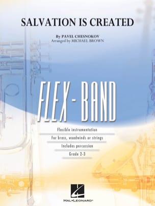 Pavel Chesnokov - Salvation Is Created - FlexBand - Partition - di-arezzo.fr