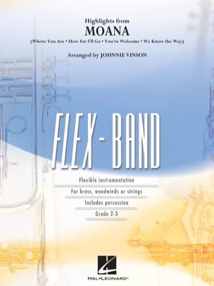 Moana (Highlights from) - FlexBand DISNEY Partition laflutedepan