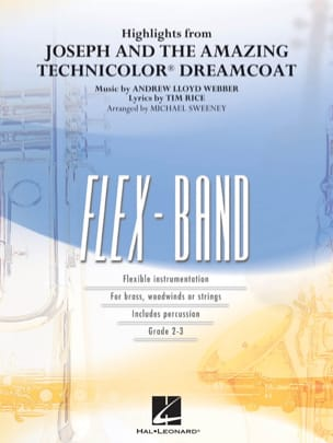 Andrew Lloyd Webber - Joseph and the Amazing Technicolor (Highlights from) - FlexBand - Partition - di-arezzo.fr