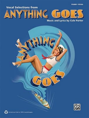 Cole Porter - Anything Goes - 2011 Vocal Selection - Sheet Music - di-arezzo.co.uk