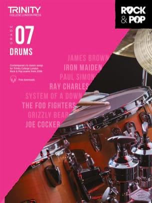 Trinity Rock and Pop 2018 -20 Drums Grade 7 Partition laflutedepan