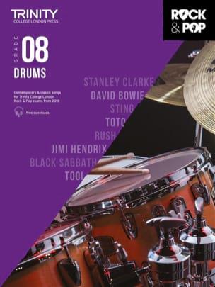 Trinity Rock and Pop 2018 Drums Grade 8 Partition laflutedepan