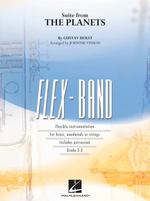 Suite from the Planets - FlexBand HOLST Partition laflutedepan