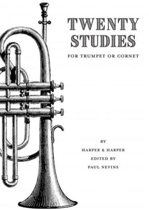 Thomas Harper Jr. - Twenty Studies For Trumpet or Cornet - Sheet Music - di-arezzo.co.uk