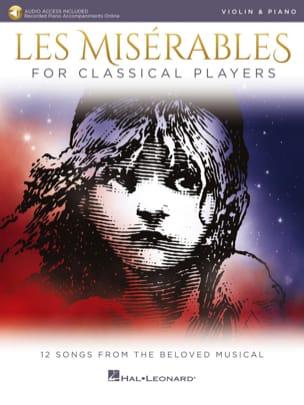 Claude-Michel Schönberg - Les Misérables für klassische Spieler - Violine - Noten - di-arezzo.de