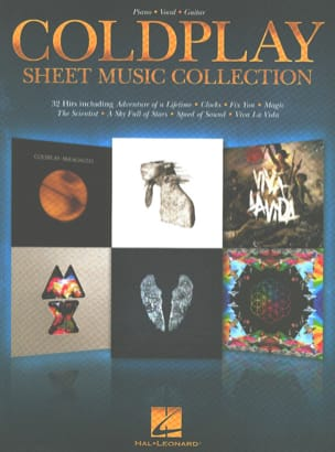 Coldplay - Coldplay Sheet Music Collection - Partition - di-arezzo.fr