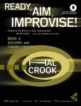 Hal Crook - Ready, Aim, Improvise! - Volume 2 - Sheet Music - di-arezzo.co.uk
