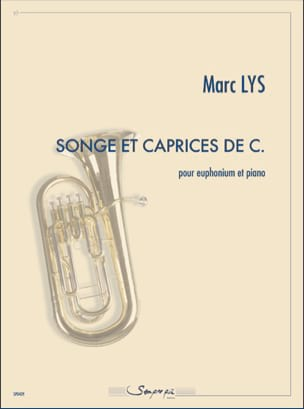 Songe et caprices de C. Marc Lys Partition Tuba - laflutedepan