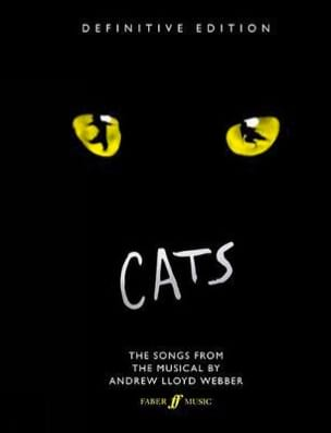 Andrew Lloyd Webber - Cats - Definitive Edition - Partition - di-arezzo.co.uk