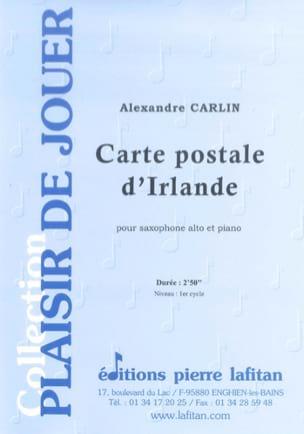 Alexandre Carlin - Postcard from Ireland - Sheet Music - di-arezzo.com