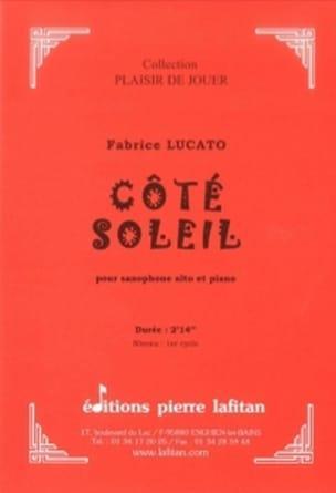 Côté Soleil Fabrice Lucato Partition Saxophone - laflutedepan