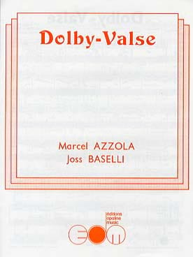 Dolby-Valse Azzola Marcel / Baselli Joss Partition laflutedepan