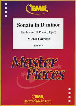 Sonate en Ré mineur CORRETTE Partition Tuba - laflutedepan