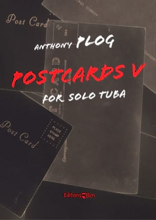Postcards V Anthony Plog Partition Tuba - laflutedepan