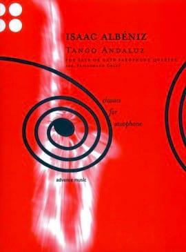 Tango Andaluz - Quatuor de Saxophones ALBENIZ Partition laflutedepan
