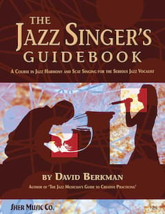 The Jazz Singer's Guidebook David Berkman Partition laflutedepan