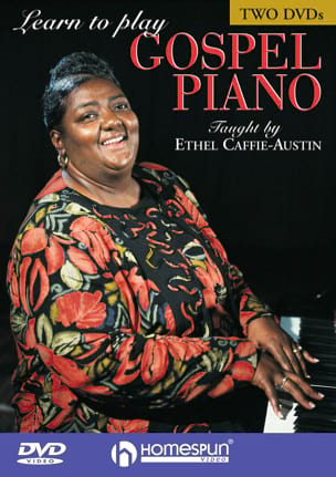 Ethel Caffie-Austin - Learn to Play Gospel Piano (Two-DVD Set) - Sheet Music - di-arezzo.co.uk