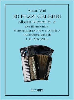 - 30 Pezzi Celebri Per Fisarmonica - Vol 2 - Sheet Music - di-arezzo.com